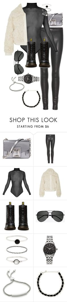 """""""Sans titre #3098"""" by christina95styles ❤ liked on Polyvore featuring Proenza Schouler, J Brand, Tory Burch, Dr. Martens, Yves Saint Laurent, Accessorize, Citizen, Monica Vinader and Forever 21"""