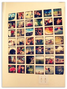 instagram wall- An easy do it yourself project!