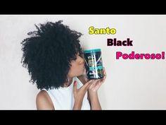 Resenha : Creme Novex Santo Black Poderoso   Sarah Oliveira - YouTube