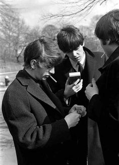 Ringo , Paul and John