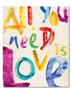 All you need is...LOVE