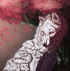 White Wolf by ~Kay-Ra on deviantART