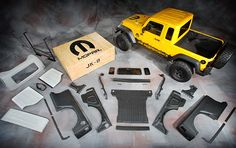 Mopar JK-8 Jeep Kit, Converts Wrangler Unlimited into a pickup.
