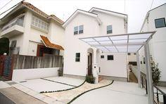 ジャストの家[公式] 白を基調にしたエレガントな家