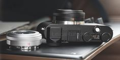 First Leica CL mirrorless camera press photo leaked (with Elmarit-TL 18mm f/2.8 ASPH lens) | Leica Rumors