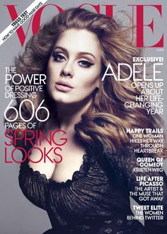 Adele tells Vogue she's done with breakup music