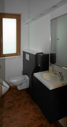 Herren WC Schichtstoff Möbel Mit Mineralwerkstoff