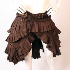 If this was black, i'd so wear it!!!! Skingraft bustle skirt made famous by Amanda Palmer.
