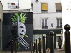 Ludo New Street Piece In Paris, France
