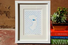 Chios Map - Limited Edition Letterpress Print. $15.00, via Etsy.