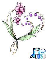 Daisy and Lily tattoo Tattoos Skull, Foot Tattoos, Tatoos, Tattoos For Daughters, Sister Tattoos, Sweet Pea Tattoo, Larkspur Tattoo, Shoulder Cap Tattoo, Birth Flower Tattoos