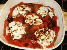 Oven-Baked Chicken With Fresh Mozzarella & Tomatoes (chicken and wild rice oven) Chicken And Wild Rice, Grilling Gifts, Oven Baked Chicken, Fresh Mozzarella, Tomatoes, Cauliflower, Bbq, Vegetables, Food