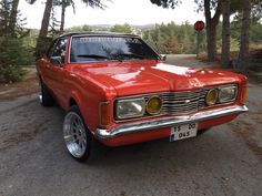 ford taunus gxl coupe