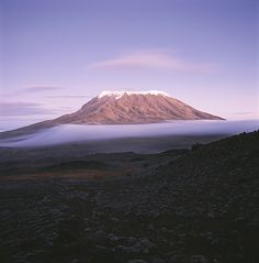 size: Photographic Print: View of Snow-Capped Mount Kilimanjaro From Mawenzi Tarn by David Pluth : Artists Monte Kilimanjaro, Kenya, Yosemite National Park, National Parks, Pico, Africa Art, Mount Fuji, Beach Landscape, African Safari