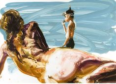 More than just wine: The painting of Eric Fischl