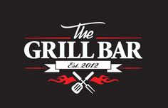 Dark grill bar cooking logo identity - I really like the use of the colours and shapes to make up the flames in this logo. The two maybe three fonts used work really well together. I also like the use of the cutlery. Logo Restaurant, Restaurant Design, Cooking For A Group, Cooking For Two, Italian Cooking, Easy Cooking, Cooking Ideas, Healthy Cooking, Cooking Recipes