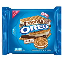 Nabisco Limited Edition Smores Oreo Cookies, 10.7 Ounce (Pack of 2) (245 ARS) ❤ liked on Polyvore featuring food, fillers and food and drink