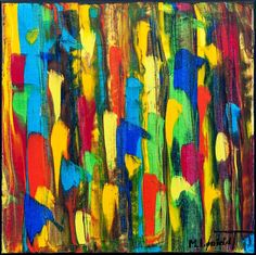 NEW PAINTING !  Medium Abstracts II  40x40 cm  My website:   #art #paintings #artbylonfeldt