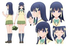 To love ru darkness Oshizu Murasame Anime To love ru darkness 2nd COPY AND FALLOW me