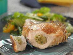 Get Trisha Yearwood's Stuffed Pork Chops Recipe from Food Network