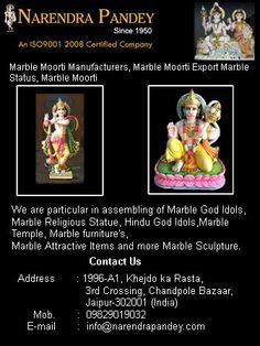 Marble Moorti Manufacturers Jaipur India.