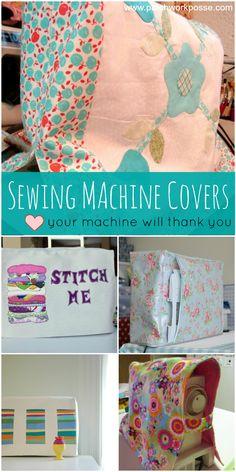 sewing machine cover tutorials.