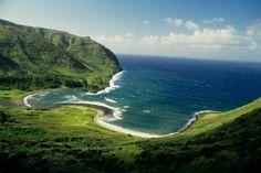 Beautiful Landscape photography : Halawa Bay Molokai Hawaii