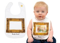 Vincent Van Bib Is Perfect For Baby's Goo Period #IncredibleThings