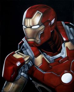 """Iron Man"" by Bruce White"