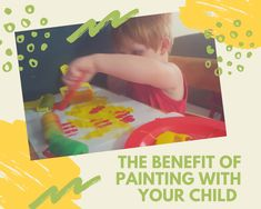 The benefits of painting with your children - Mamma & Bear Teaching Kids, Kids Learning, Preschool Curriculum, Finger Painting, Painting For Kids, Paper Texture, Color Mixing, Your Child, New Experience
