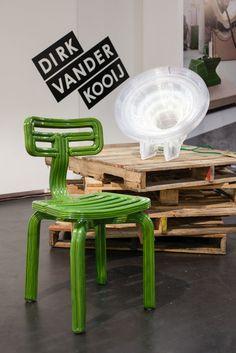 chubby chair  satellite lamp by dutch designer Dirk Vander Kooij - NY design wk '13