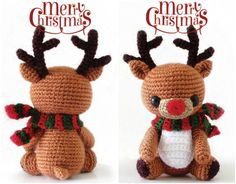 Rudy the Reindeer*.  Make as a stocking holder! (like the snowman and elf)