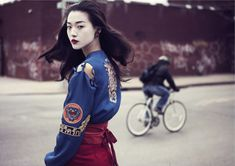 memoirs of a geisha: tian yi by oliver stalmans for elle vietnam may 2013