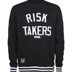 http://yrt.bigcartel.com DGK Risk Takers Sweatshirtl
