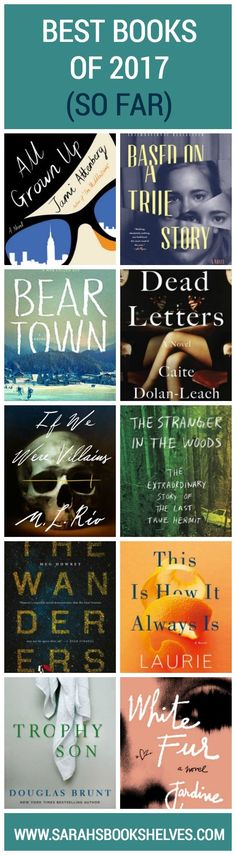 What 2017 books do you need to read ASAP? Get your TBR ready because here are my Best Books of 2017 So Far!