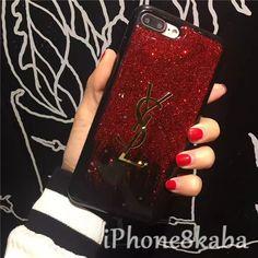 イブサンローラン iphone8 ケース iphoneX ケース キラキラ おしゃれ 高貴