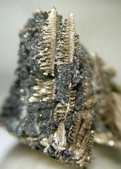 Native Silver Crystals – Alva Mine, Stirling, Scotland