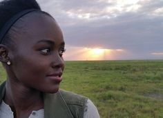 Lupita N'yongo Goes Home To #Kenya To Save Elephants #LupitaNyongo