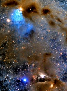 Sky..Stars and Dust in Taurus .. This complex of dusty nebulae lingers along the edge of the Taurus molecular cloud, a mere 450 light-years distant. Sta... - Giovanni Lo Cascio - Google+