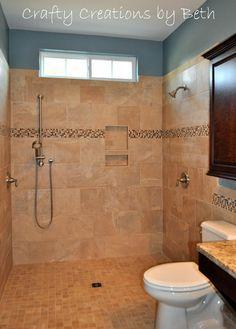 bathroom design handicap accessible Wheelchair Accessible Bathroom Remodel Beyond the Screen Door Más