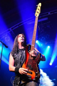 Mike Duda of W.A.S.P.  #MikeDuda #wasp