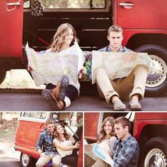Adorable engagement session - he has lost his arm to lions and they still plan to travel the world t Camping With A Baby, Camping Set Up, Engagement Couple, Engagement Session, Engagement Photos, Travel Icon, New Travel, Camping Party Activities, Outdoor Wedding Photography