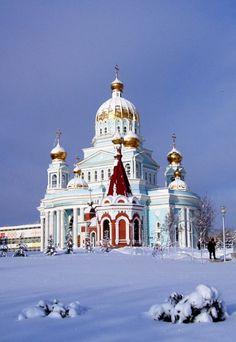 Cathedral F.Ushakova, Saransk, Russia Copyright: Alexander Karasev