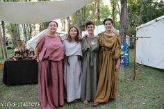 """Mutina Boica"" Modena, Italy group: ""Vicus Italicus"" roman women"