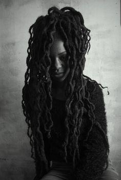 abbensettsstudio: I I Nzingha By Kwesi Abbensetts Dreadlock Styles, Dreads Styles, Dreadlock Hairstyles, Curly Hair Styles, Natural Hair Styles, Little Buddha, Dreads Girl, Dreadlocks, Nu Locs