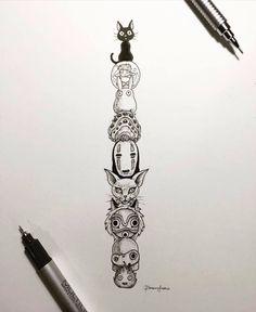 Artist unknown #studioghibli #hayaomiyazaki