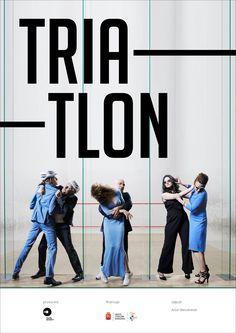 "poster ""Triatlon"" fot. Artur Wesołowski"