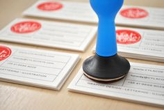Personal Card by Cyla Costa, via Behance