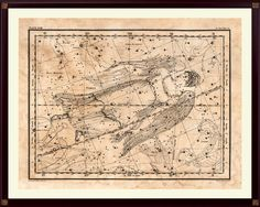 Virgo Constellation Print, Astrological Sign, Astronomy Decor, Constellation Map, Virgo Zodiac Print, Astrology Gifts, Astronomy Art by DicosLand on Etsy
