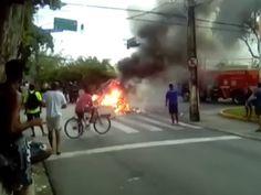DE OLHO 24HORAS: Protesto por moradia deixa trânsito complicado na ...